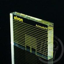 LP Vinyl record player Measuring phono Tonearm VTA Cartridge Azimuth Ruler