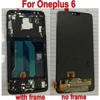 LTPro для Oneplus 6 ЖК дисплей + запасной дигитайзер в сборе для панели с сенсорным экраном One plus мобильный телефон 6,28 дюймов