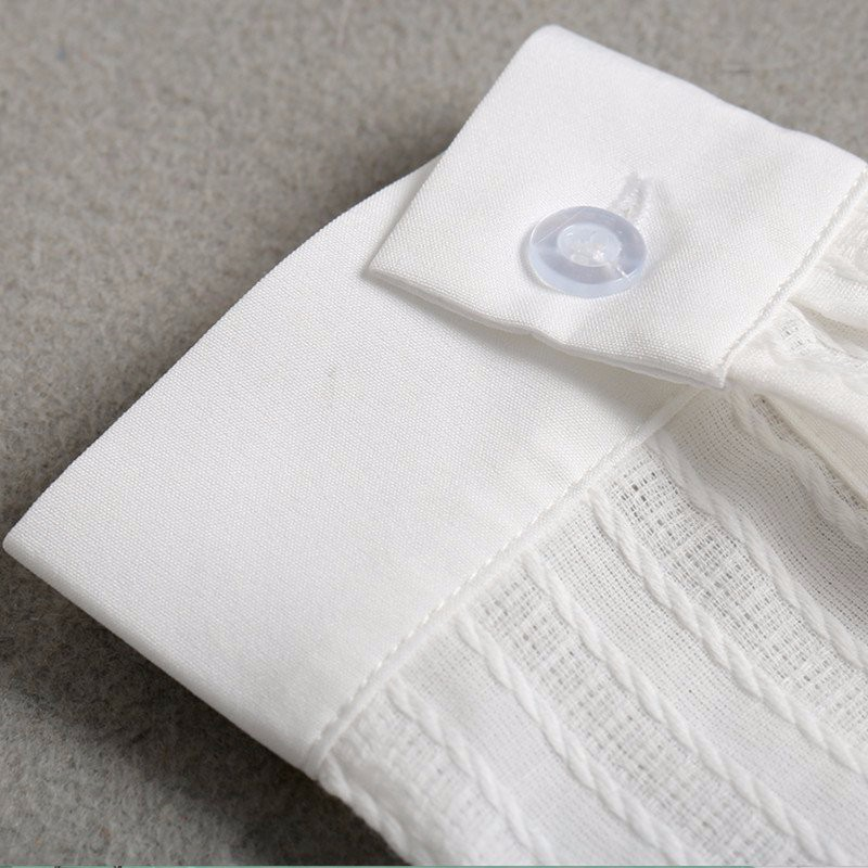 HTB1iAj5NpXXXXX9XpXXq6xXFXXXG - FREE SHIPPING White Blouse Shirt Women Work Wear Long Sleeve JKP092