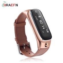 M6 Смарт Браслет Спорт Smartband фитнес-трекер Браслет Bluetooth-гарнитура для Наушников часы для IOS Android xiaomi huawei