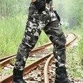 Ejército Pantalones cargo Tácticos de Los Hombres Militares de Camuflaje de Combate Multi-bolsillos Pantalones y Pantalones Deportivos Utilitarios Casual Encuadre de cuerpo Entero de Trabajo