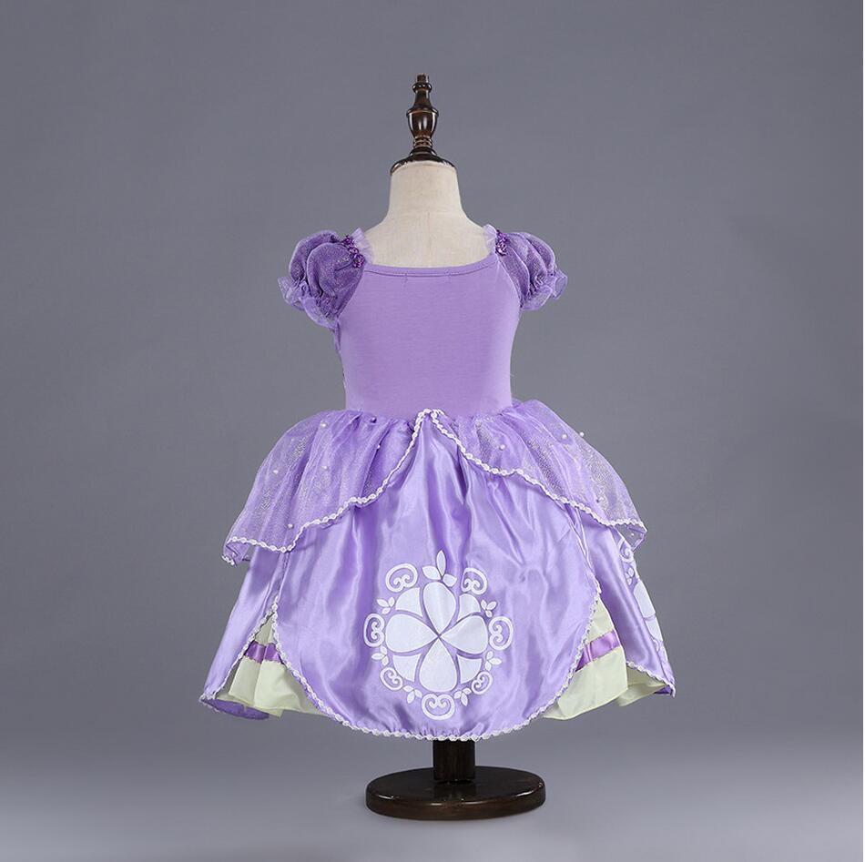 Bling Edle Baby Kinder Kleidung Lila Sofia Kostüm Prinzessin Party ...