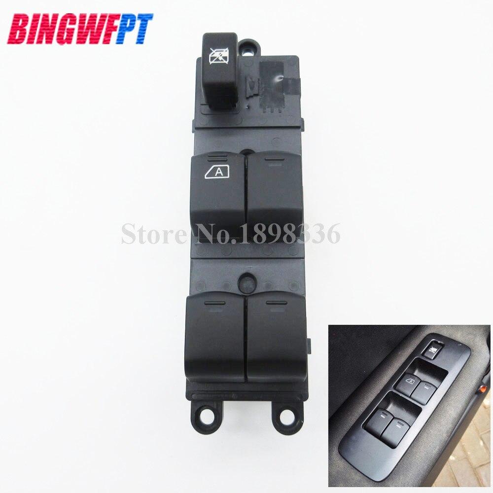 Auto Vorne Links Fahrer fenster heber schalter für Nissan Navara D40 Für Qashqai J10 JJ10 Pathfinder R51 25401-4X00D 25401-4X01D