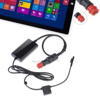 Portable Car Charger Power Supply Adapter W USB Port For Microsoft Surface Pro 3 12 Inch