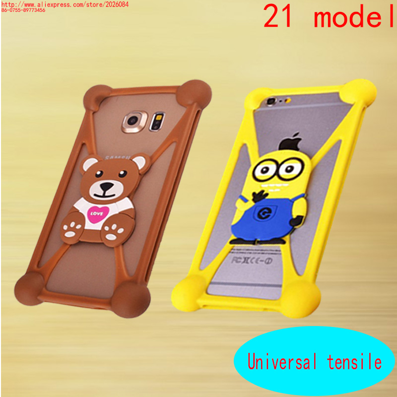 3D Cute Cartoon Animals Soft Silicone Cover For Samsung Galaxy Note 1 2 3 4 5/Note 3 N7505/Ace S5830i Cover