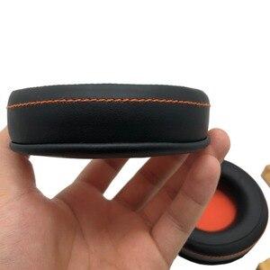 Image 4 - زوج من وسادات الأذن IMTTSTR قطعة واحدة غطاء وسادة الأذن للاستبدال لمعالج الصوت لـ ASUS ORION ROG Spitfire USB 7.1 الظاهري