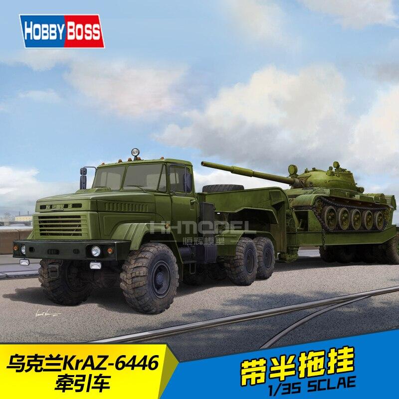 GleagleHB 85513 1/35 Ukraine KrAZ-6446 tractor (semi trailer) kraz