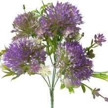 Один кусок мягкий пластик Одуванчик цветок пять голов/букет Искусственные цветы искусственная Гортензия цветы 4 цвета