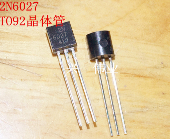 Fast Free Ship 200pcs/lot New Made In China 2N6027 2N6027G Silicon Controlled TO-92 Programmable Unijunction Transistor