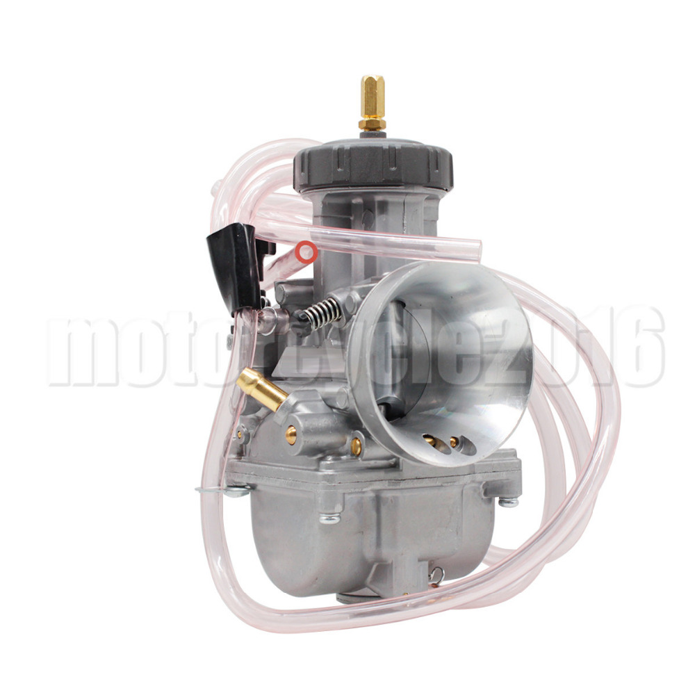 YSW Aluminum 40MM PWK High Quality Carburetor one PCS Universal Power Jet Carb Used in Motorcycle Scooter ATV DIRT BIKE lite full aluminum high quality universal remote supports mv02 mv04 mv06 v02 v03