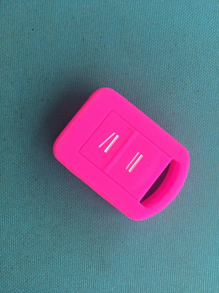Image 5 - Новый Сменный силиконовый чехол для ключей от машины Fob чехол для Opel Vauxhall Corsa Agila Meriva Combo 2 кнопки дистанционного ключа Держатель-in Футляр для автомобильного ключа from Автомобили и мотоциклы on AliExpress