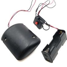 1 компл. R260 DC 3 в вибратор сильный вибрирующий двигатель с выключателем и чехол для батареи для DIY массажер Лягушка Кормления