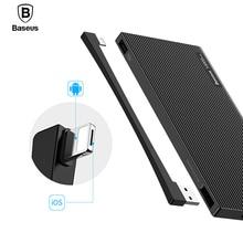 Baseus 10000mAh Dual USB Power Bank Portable External Battery Charger For iPhone Mobile Phone LCD Powerbank