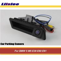 Liislee For BMW 5 M5 E39 E60 E61 Car Rear View Camera / HD Back Up Reverse Camera / Trunk Handle / CCD Night Vision