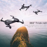 Reomote Toys Foldable Mini Selfie Drone Folding Aerial Four axis Aircraft WIFI Phone Control RC Helicopter Drone