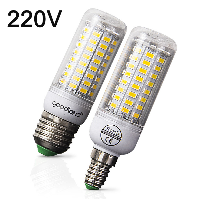 цена на E27 LED Bulb  E14 LED Lamp 220V Corn Bulb Warm White Cold White 24 36 48 56 69 72LEDs for Home Modern Living Room LED Light