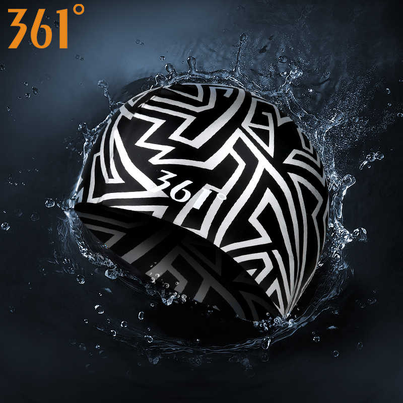 361° Unisex Silicone Elastic Swimming Cap Waterproof Long Hair Solid Swim Hats Hot Spring Pool Swim Training Adult Swim Cap