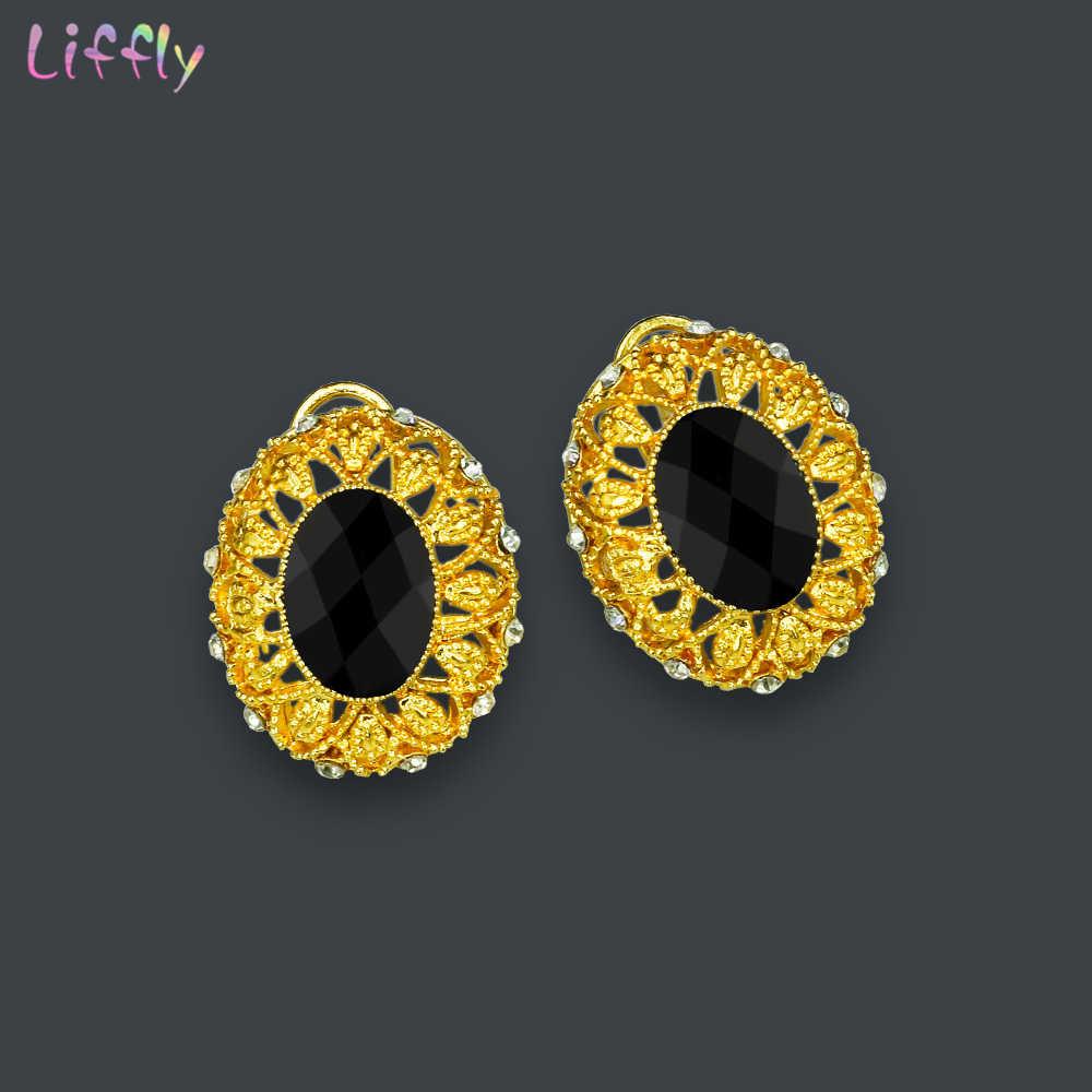 Liffly Bridal Jewelry Set Dubai Gold Jewelry Sets for Women Indian Wedding Necklace Earrings Ring Bracelet Jewellery Wholesale