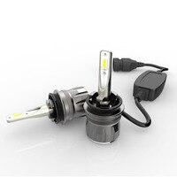TINSIN 2pcs S7 LED auto headlight H11 led lamp 40W 4800LM 9005 hb3 led 9006 9012 6000k led headlight for car