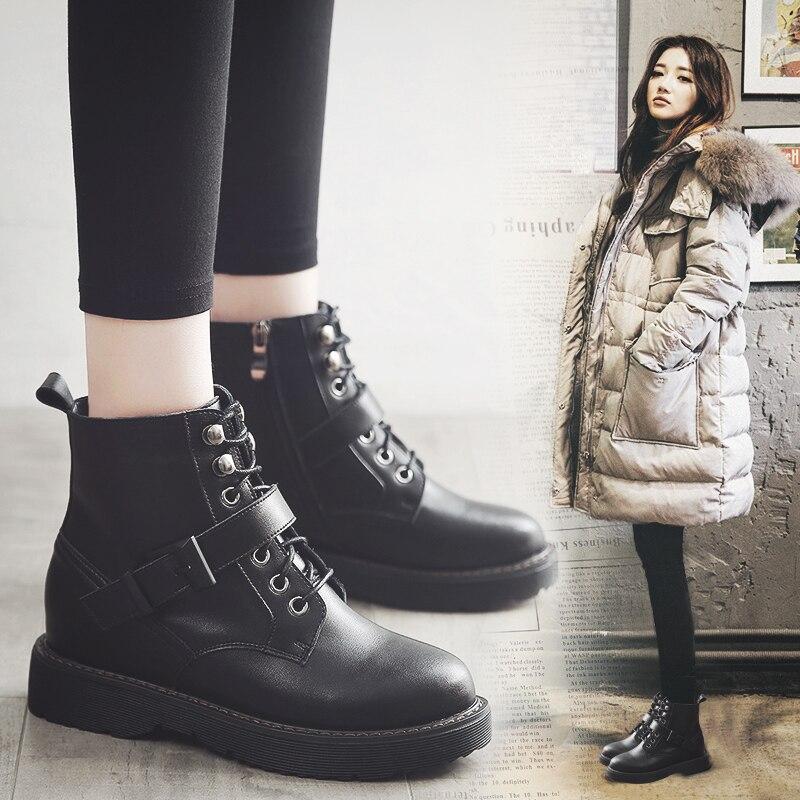warm Automne Mode En Winter Cheville Hiver Peluche Avec Femmes 2018 Damen Chaussures Bottes Des Mycoron Et Neige black De Populaire Plat Marque Schuhe 1q76wW5xR