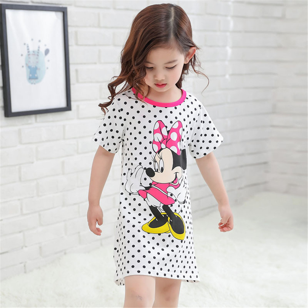 Panda Children Girls Nightgown Sleep Dress for Girls Baby Pajamas Kids  Sleepwear Sling Nightdresses Girls Pyjama Home Clothing-in Nightgowns from  Mother ... 3c80f1613bdb