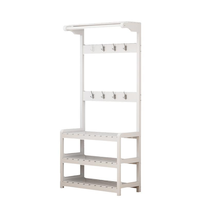 Multifunctional coat Wooden bedroom Floor hanger racks Simple shoe rack Combination of household clothes shelf children s bookcase shelf bookcase cartoon toys household plastic toy storage rack storage rack simple combination racks