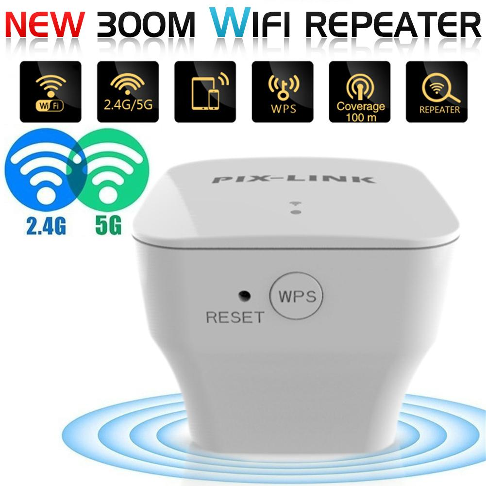 Range-Extender Routers Repeater Amplifier Wifi Signal 300mbps WPS 1 Wireless Coverage