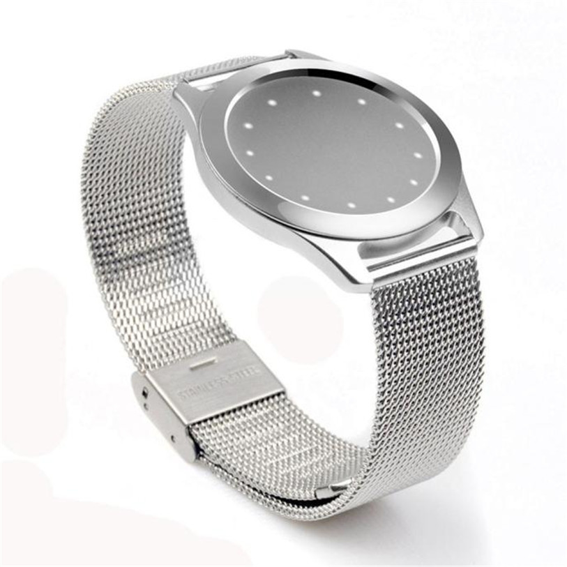 Hot 2017 Newly Designed High Quality Stainless Steel Wristband Strap Bracelet Sleep Fitness Monitor For Misfit Shine HotDropship high quality lowest price wholesale kz 19 pneumatic combination steel metal strapping packing machine for 19mm steel strap tape