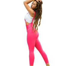 Pure color Hip lifting motion Ventilation Shaping Rompers tayt pants workout leggings women shein joggers women fitness legging