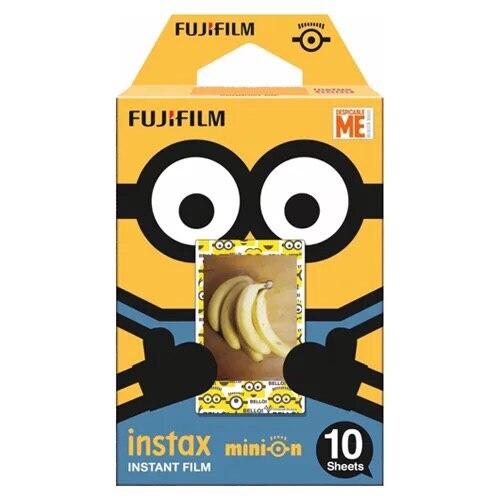 New arrival Minion Fujifilm Instax Mini 8 mini 9 Film 10 Sheets Fuji For Polaroid mini camera 8 50s 7s 90 25 Share SP-1 Instant