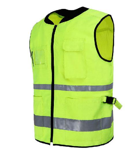 Reflexivo roupas de ciclismo jaqueta à prova de vento camisa colete refletivo de segurança de alta qualidade V82902