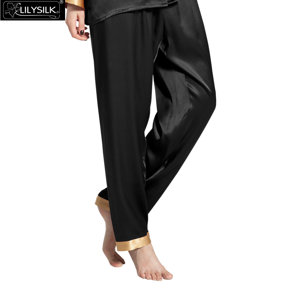 1000-black-22-momme-gold-cuff-mulberry-silk-pajama-pants-01