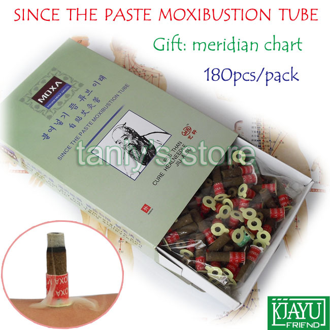 Smoke since the paste moxibustion tube self-stick moxa roll Yixuan warm moxibustion roll 180pcs/pack 2pack/lot the iconic house architectural masterworks since 1900