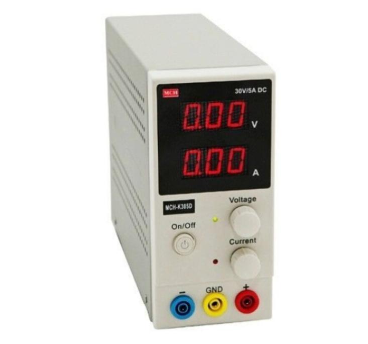 Size : 220v 30V 5A MCH-K305DN Fine Control Mini Switching Adjustable DC Power Supply Single Channel 110V or 220V