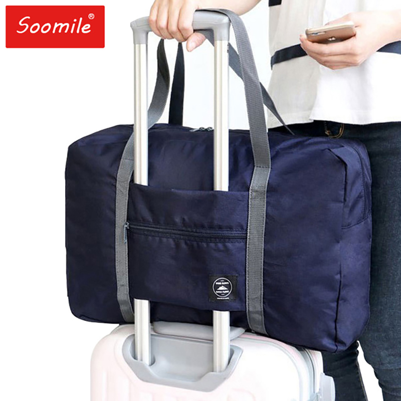 soomile 2018 nylon foldable travel bag unisex