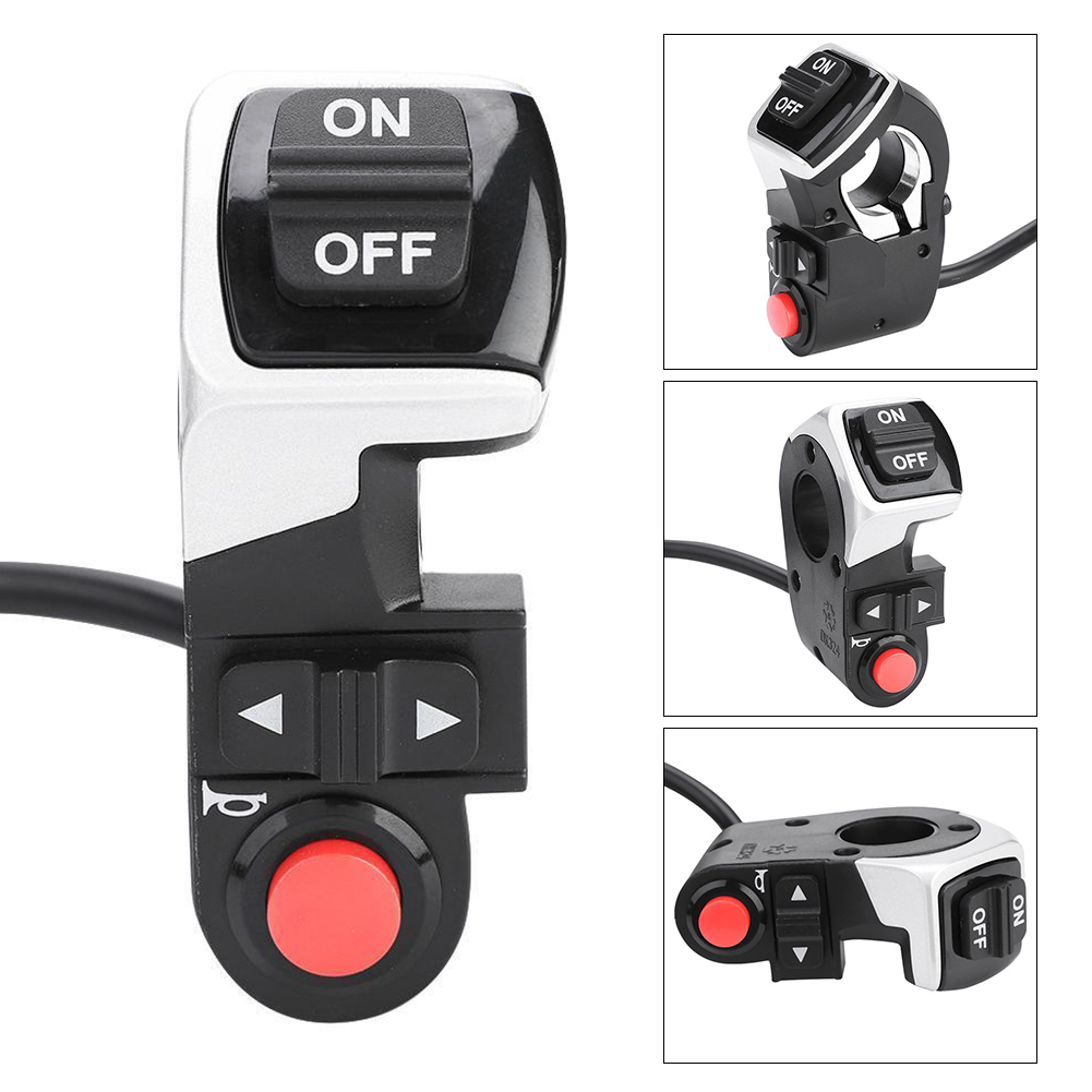3 In 1 Rainproof Plastic Button Type Turn Signal Light Rear Lamp Accessory DIY Electric Bicycle Shock Resistant Control Switch3 In 1 Rainproof Plastic Button Type Turn Signal Light Rear Lamp Accessory DIY Electric Bicycle Shock Resistant Control Switch