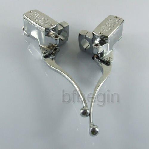Hydraulic Lever Lock Brake Control : Aliexpress buy chrome mm quot motorcycle brake