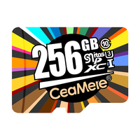 CeaMere 2PCS Micro Karte Class10 8GB Class6 16GB/32GB U1 64GB/128GB/256GB U3 Speicher Karte Flash Memory Micro TF für Smartphone