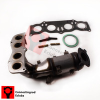Exhaust Manifold W Catalytic Converter For 02 06 Toyota Camry Solara 2 4L MAX