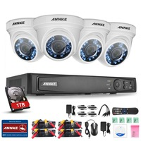 SANNCE 900TVL 8 Channel 960H HDMI DVR Outdoor CCTV Home Security Camera System