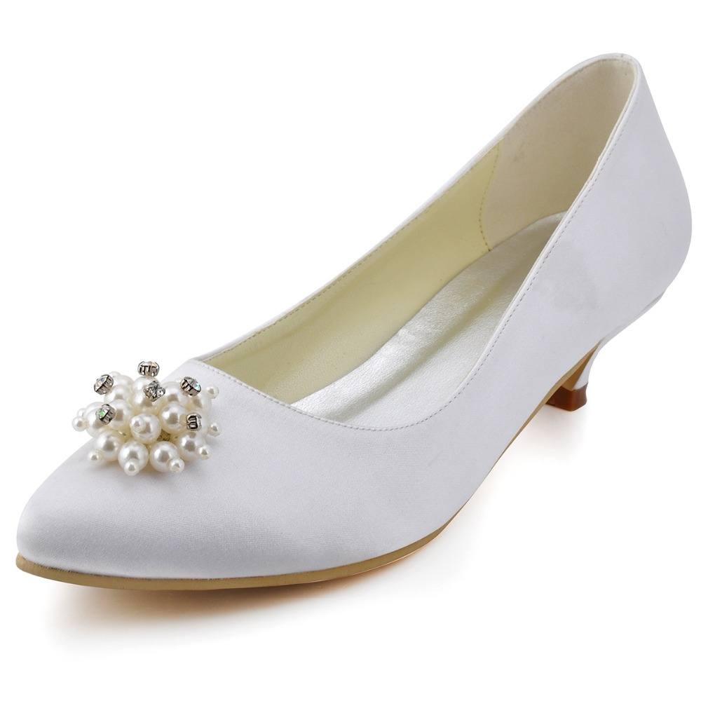Low Heel Bridal Shoes Promotion Shop for Promotional Low Heel