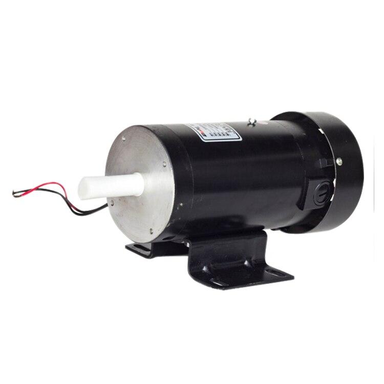 400W horizontal vertical permanent magnet DC mechanism bag machine discharge motor DC220V ZYT22 22018 Deli motor