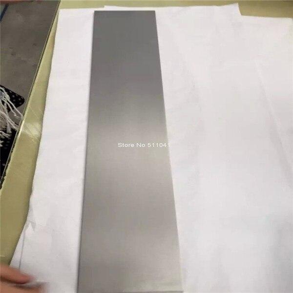 1 pc plaque de Tantale tantale feuille échantillons 2mm * 100mm * 600mm, livraison gratuite