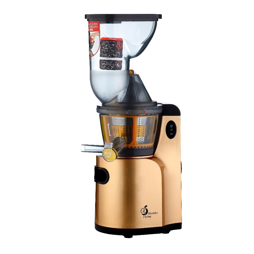 Big Mouth Electric Juicer Automatic Fruit Vegetable Citrus Juice Machine Electric Slow Juicer Multi Function Food Processor T-Q9 стоимость