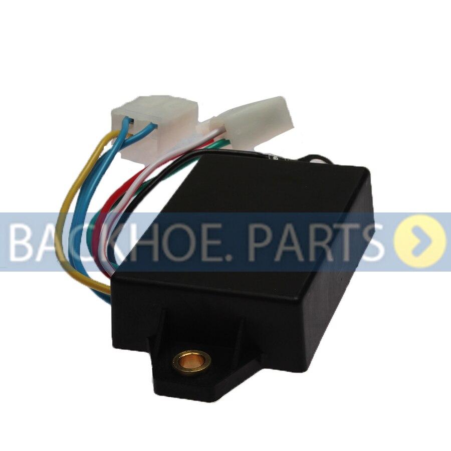 Redresseur de tension régulateur | Pour moteur Mitsubishi K3B K3D K3E K4D K4E S3L S4L MM409675 MM435745 12V