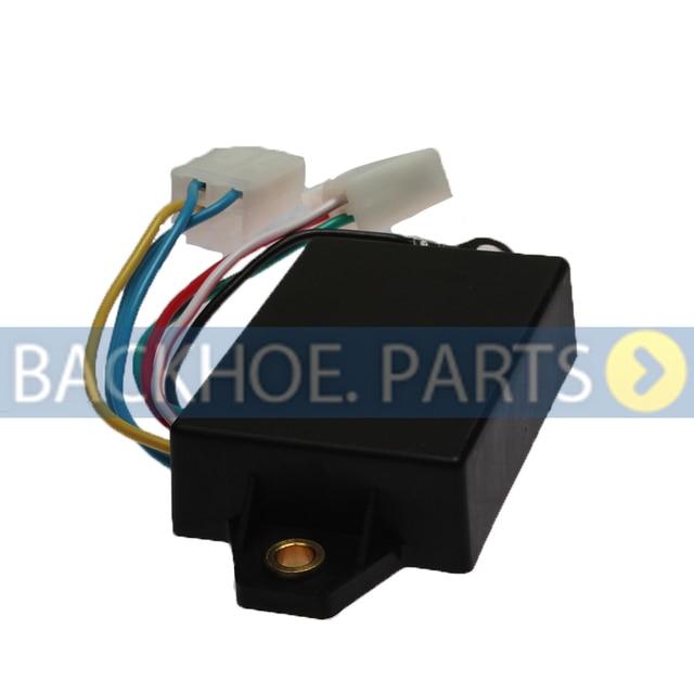 Voltage Rectifier Regulator MM409675 MM435745 12V for Mitsubishi Engine K3B K3D K3E K4D K4E S3L S4L