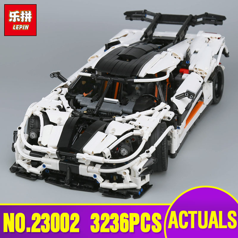 Lepin 23002 Technic Series The MOC-4789 Changing Racing Car Set Children Educational Building Blocks Bricks Toy legoing Model lepin 21003 series city car classical travel car model building blocks bricks compatible technic car educational toy 10252