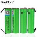 Литий-ионный аккумулятор VariCore VTC6  батарея US18650VTC6  3 7 В  3000 мА·ч  18650  непрерывная разгрузка 30 А  никелевая обшивка  для электронных сигарет  инс...