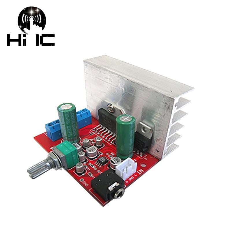 DC 12V TDA7377 35W+35W 2.0 Channel Dual Stereo Audio Power Amplifier Board Amp