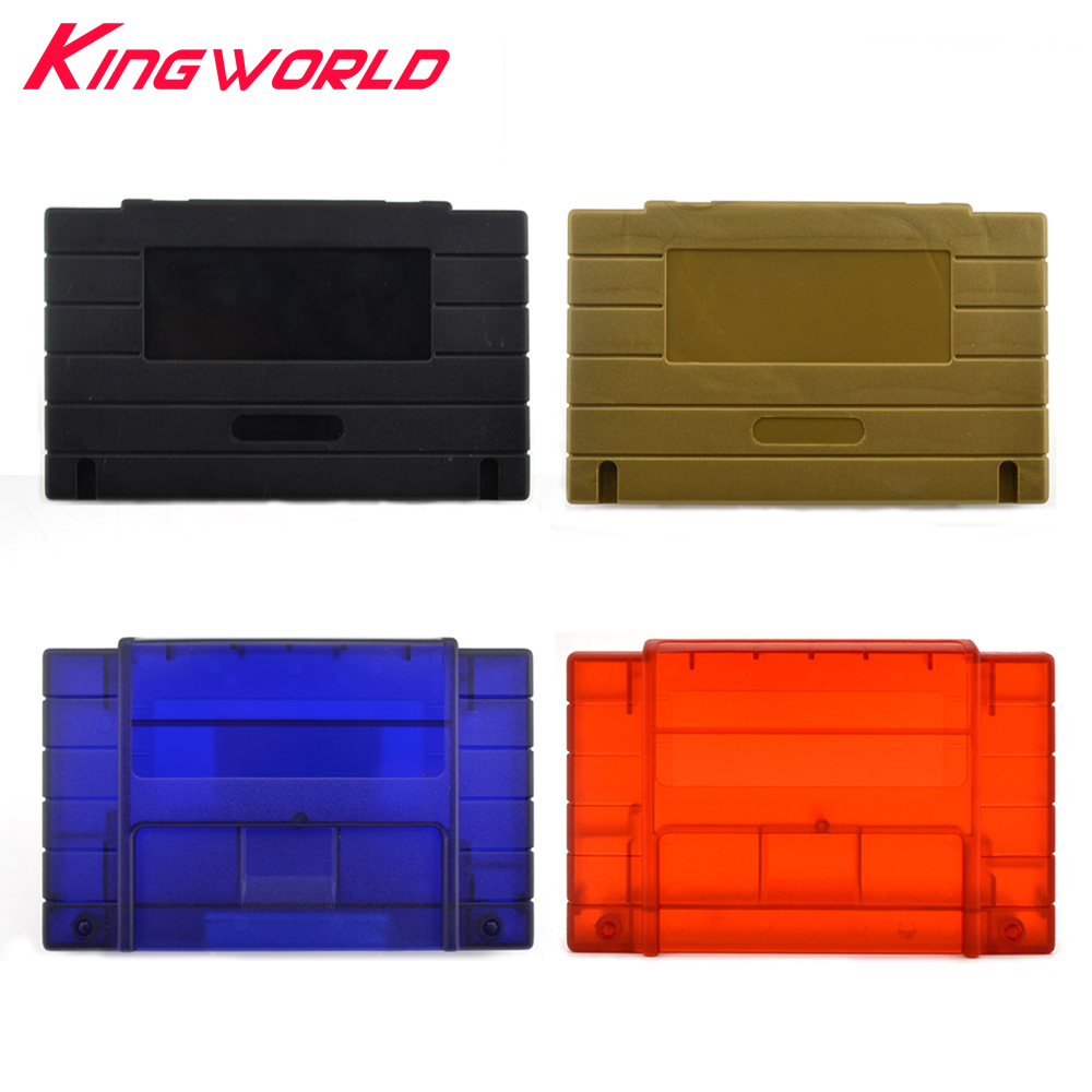 American version Replacement Plastic card 16bit shell Plastic Shell for Super for S-NES game Console